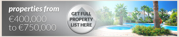 Bargain properties between 400,000 euros and 750,000 euros on the Costa del Sol