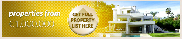 Bargain properties over 1,000,000 euros on the Costa del Sol