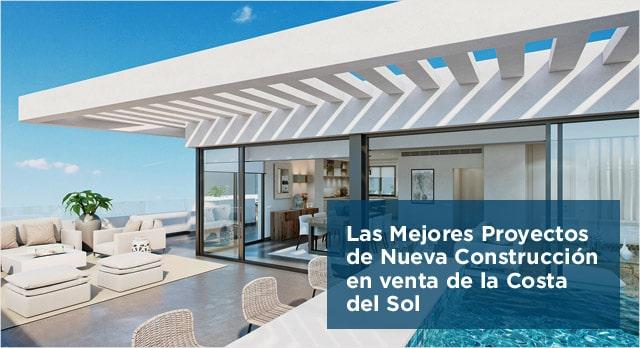 Las Mejores Proyectos de Nueva Construcción en venta de la Costa del Sol
