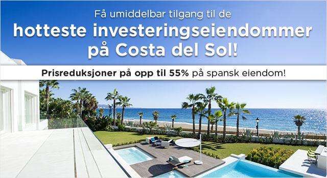 Investeringseiendommer på Costa del Sol