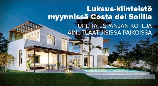 Luksus-kiinteistö Costa del Solilla