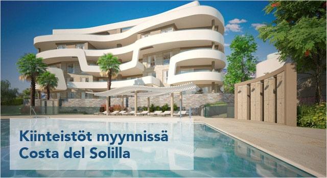 Kiinteistöt myynnissä Costa del Solilla