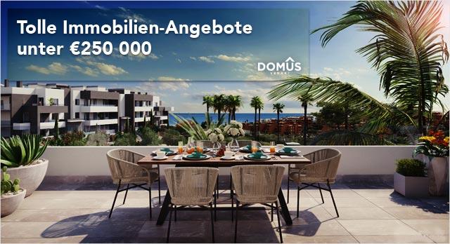 Immobilien unter €250 000 in Spanien