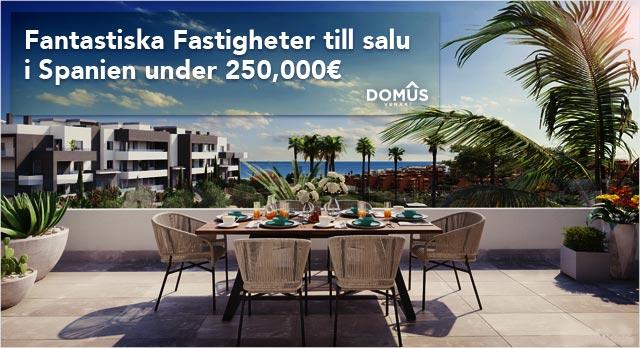 Fastigheter under 250,000€
