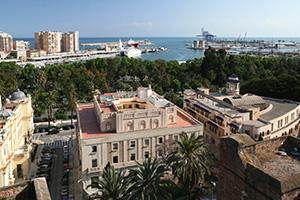 Royal visit to Malaga